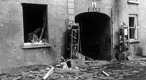 Claudy bomb: scene after the explosion