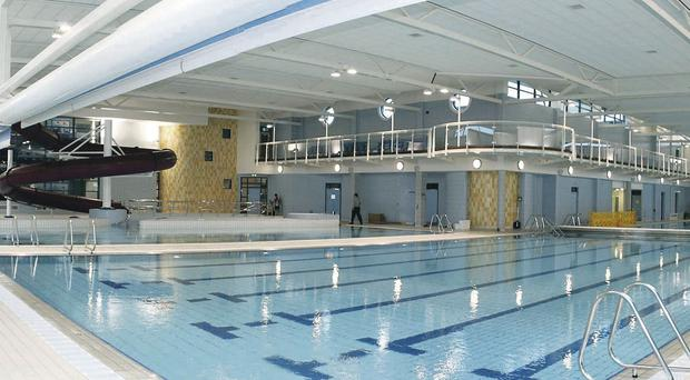 The pool complex at Greenvale Leisure Centre