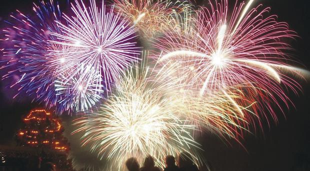 Donaghadee is welcoming Santa to town with a fireworks display