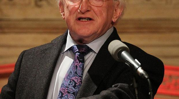 Irish President Michael D Higgins said the memories of victims of the Troubles must be valued through fitting memorials