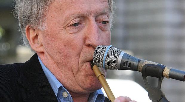 Paddy Moloney spoke to a graduation ceremony for music, drama and media students at the Dublin Institute of Technology