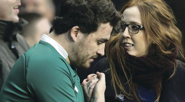 The full spectrum of sporting emotion was on show as Ireland supporters were put through the wringer at the Aviva