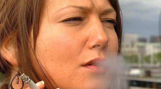Smoking rates among pregnant women have dropped by a third over a decade, says a report covering north and south of the border