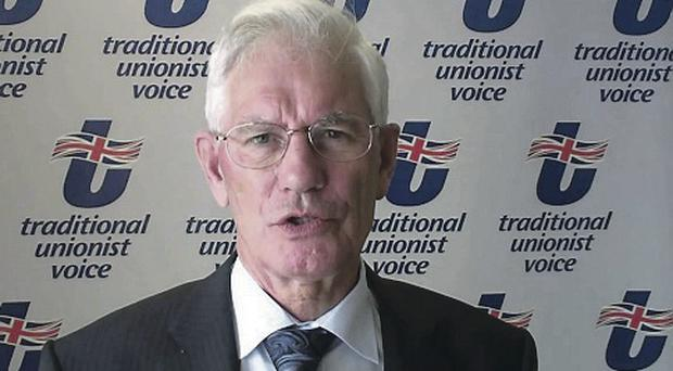 TUV party president William Ross