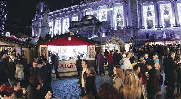 Belfast's Continental Market is drawing record-breaking crowds as the economy picks up