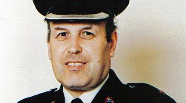 RUC officer Superintendent Bob Buchanan, who was murdered during the Troubles.