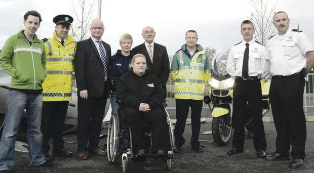 A range of agencies teamed up to drive home the safety message