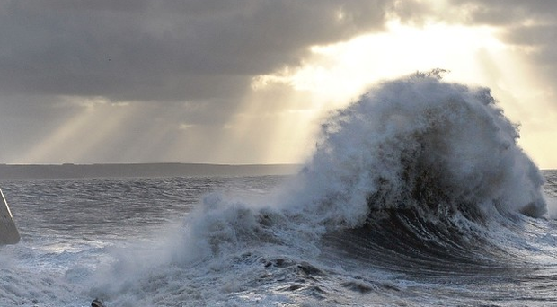 90mph gale-force winds are set to batter the country.