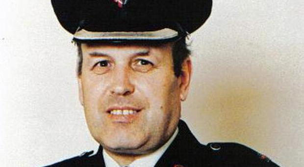 RUC officer Superintendent Bob Buchanan was murdered by the IRA in 1989.