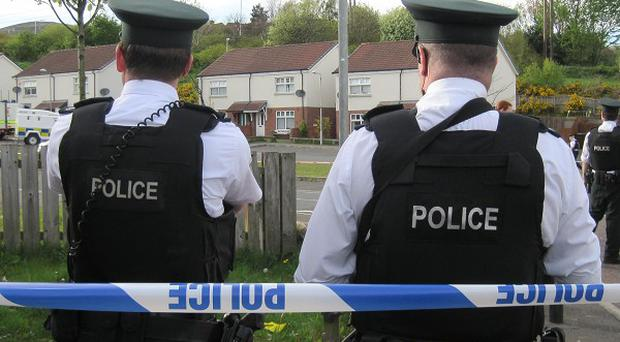 Police officers in three vehicles were shot at as they travelled along the Crumlin Road in Belfast on Thursday evening