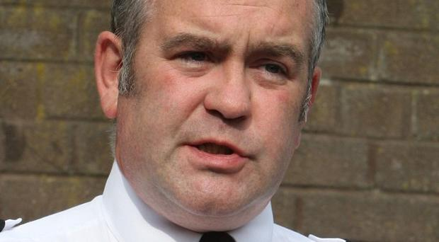 Chief Superintendent George Clarke said his officers would not be deterred from doing their job