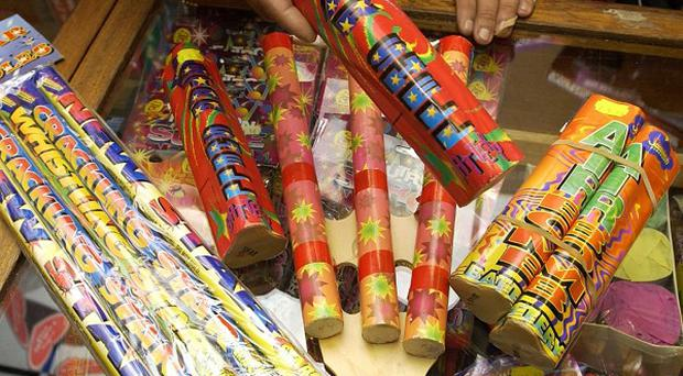 Six people suffered fireworks-related injuries in Northern Ireland this year