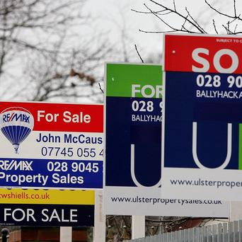 House prices in Northern Ireland have climbed 3.3%