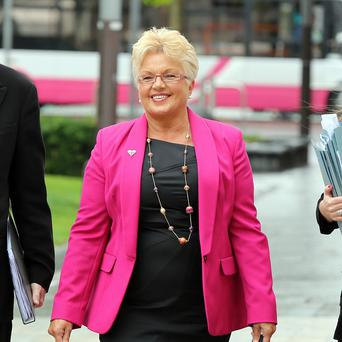 Ruth Patterson expressed her delight after the charge she was facing was withdrawn