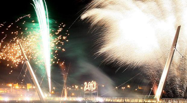 Derry celebrates becoming 2013 UK City of Culture