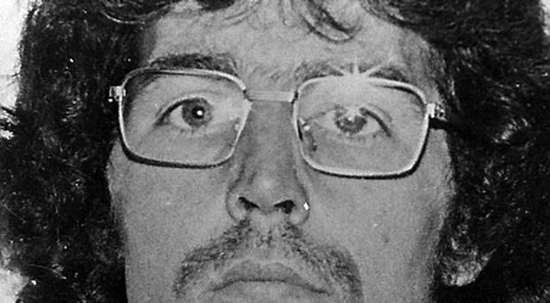 Gerry Kelly in 1983. This picture was released by the RUC after he and 30 or so others escaped from the Maze prison in 1983