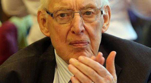 Lord Bannside Ian Paisley is said to be in good spirits despite being admitted to hospital for tests.
