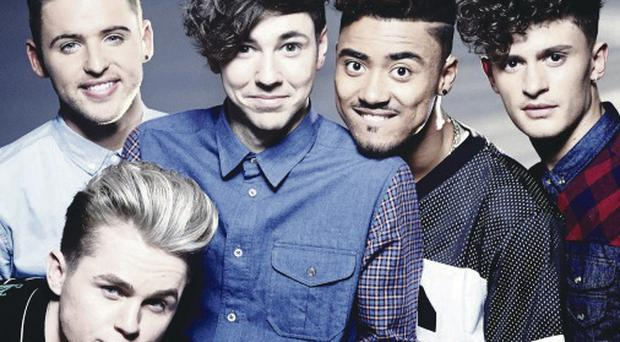Boy band: Kingsland Road were in Belfast