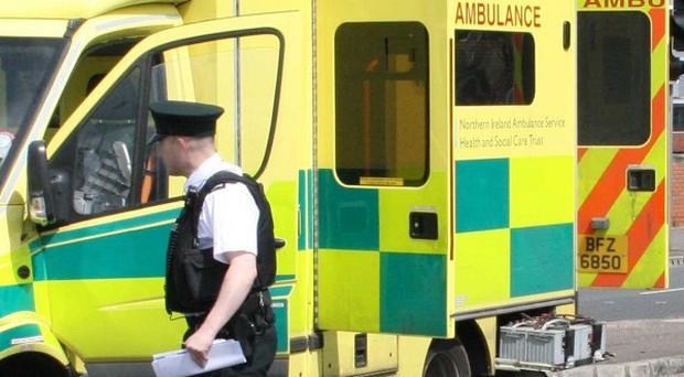 Six people were taken to hospital after being stabbed on the Ballyduff Brae Estate in Newtownabbey