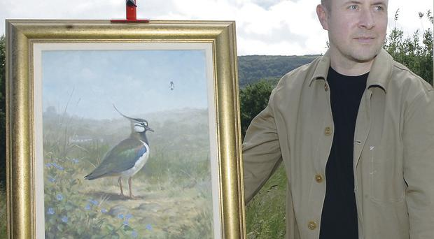 Julian Friers is better known for his bird paintings, but has now changed his attention to portraits