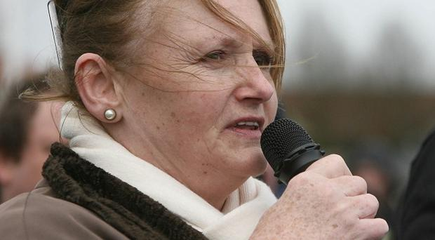 Marian McGlinchey has been handed a suspended sentence for dissident republican terror offences