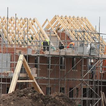 The construction industry in Northern Ireland is recovering despite lagging behind the rest of the UK, experts say