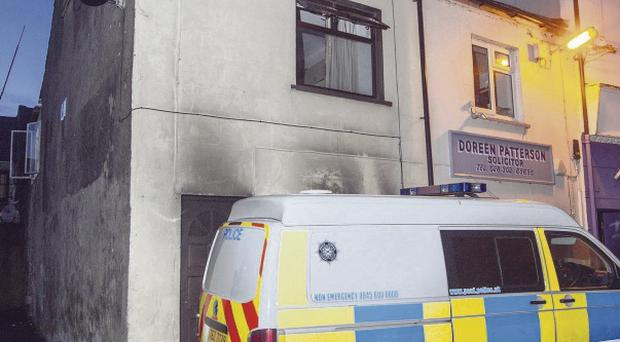 Detectives investigating a fatal fire in the Georges Lane area of Newry