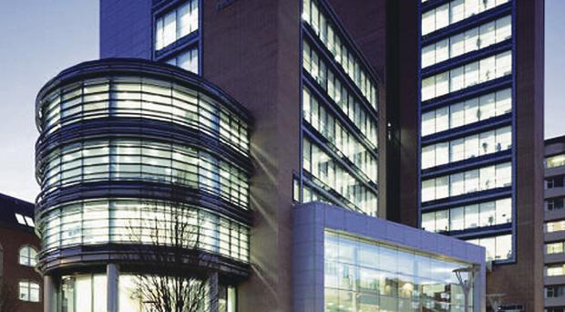Invest NI's HQ was built using a private finance initiative contract which runs until 2030