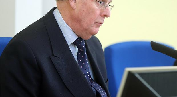 Chairman Sir Anthony Hart at the independent Historical Institutional Abuse (HIA) Inquiry