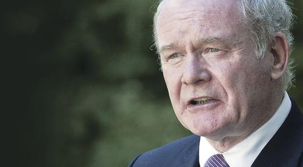 Martin McGuinness issued his blunt warning after a meeting of the five Executive party leaders