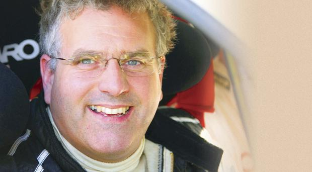Rally driver Neil McCance was a former Irish Mitsubishi Challenge champion