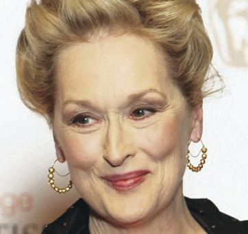 Irish interest: Meryl Streep
