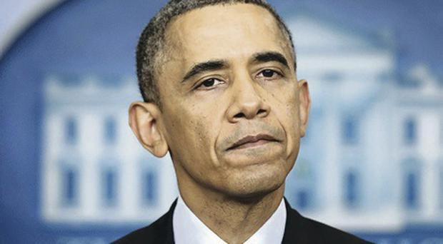 US President Barack Obama discussed the Haass talks with David Cameron