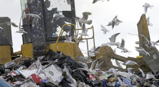 Work is under way to return tonnes of illegally deposited waste from Co Fermanagh to the Republic