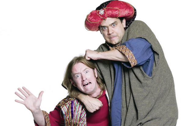 The Reduced Shakespeare Company's play The Bible: The Complete Word of God (Unabridged) was cancelled last Wednesday