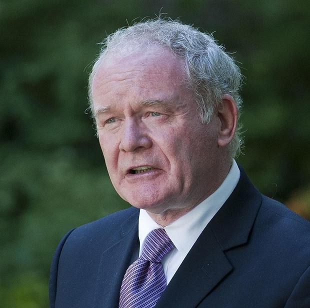 Martin McGuinness let fly in a hard-hitting interview, which set the scene for the start of Sinn Fein's annual conference
