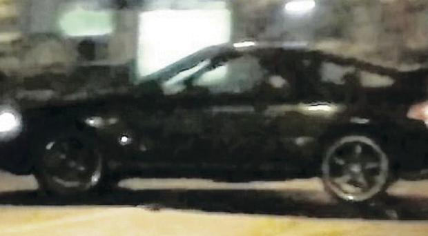 Images posted on YouTube of a number of alleged stolen cars being raced on the Falls Road in west Belfast by gangs of youths on New Year's Eve
