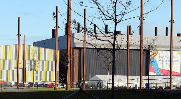 Titanic Studios in Belfast, where Game Of Thrones is made