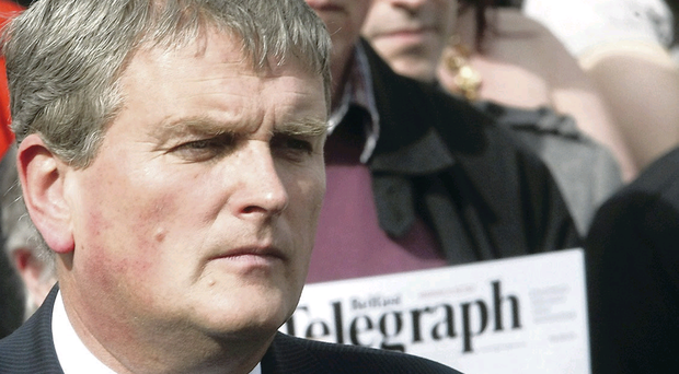 DUP MLA Jim Wells hit out against comments allegedly made by Dr Graham Ellison
