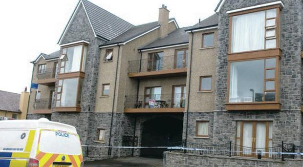Neil McFerran and Aaron Davidson were overcome by fumes in a Castlerock apartment block as a result of faulty installation work by fitter George Brown