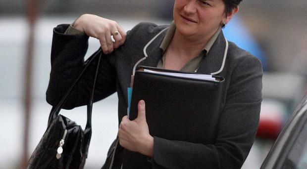 Arlene Foster paid tribute to the Ryobi investment deal