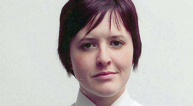 Photo issued by the Police Service of Northern Ireland of Constable Philippa Reynolds
