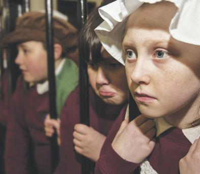 Children from Currie Primary School visit Crumlin Road Gaol
