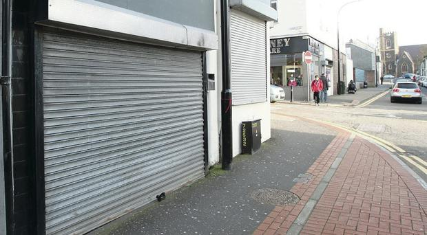 Ballymena: one in five of shops is empty