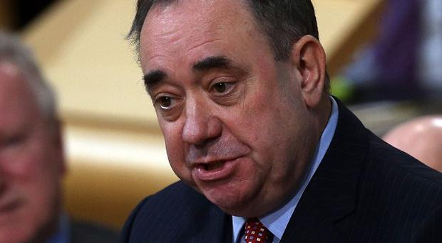 Alex Salmond's bid for Scottish independence has been criticised by DUP MP Ian Paisley jnr