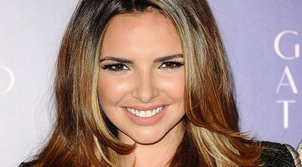 Former Girls Aloud star Nadine Coyle is