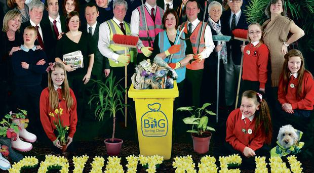 Our Beatles-style tribute to the Big Spring Clean campaign