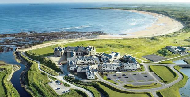The 400-acre Doonbeg golf course in Clare