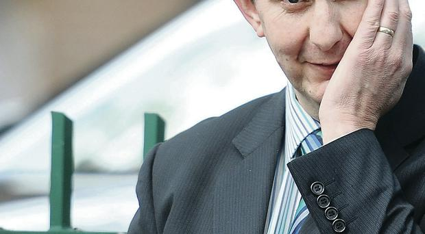 Health Minister Edwin Poots is under scrutiny