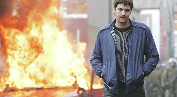 Jim Sturgess as Martin McGartland in the movie Fifty Dead Men Walking